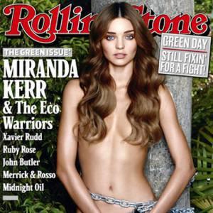 Miranda Kerr milite pour la défense de la nature. C'est ce qu'on appelle être peace and love, et nue.