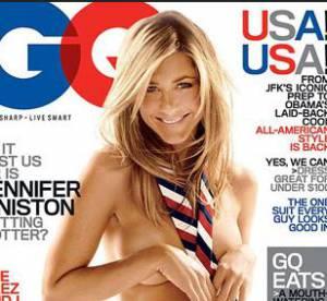 Jennifer Aniston, Angelina Jolie, Kate Moss : Nues, elles font la couv'