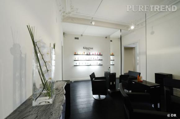 Le salon Rossano Ferretti est un lieu confidentiel de bien-être.