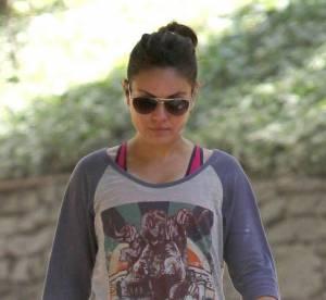 Mila Kunis : elle se relache quand Ashton n'est pas la !