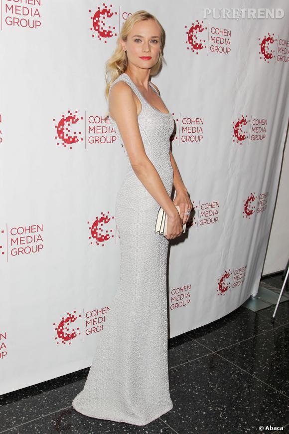 """Diane Kruger lors de la projection des """"Adieux à la Reine"""" au MoMA à New York."""