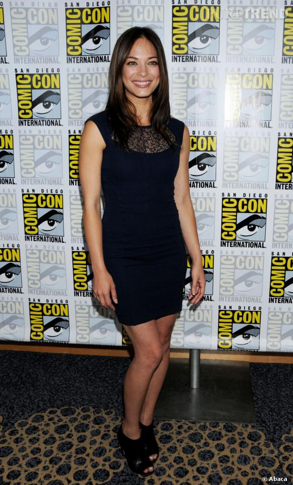 "Kristin Kreuk fait son come back pour ""Beauty & The Beast""."