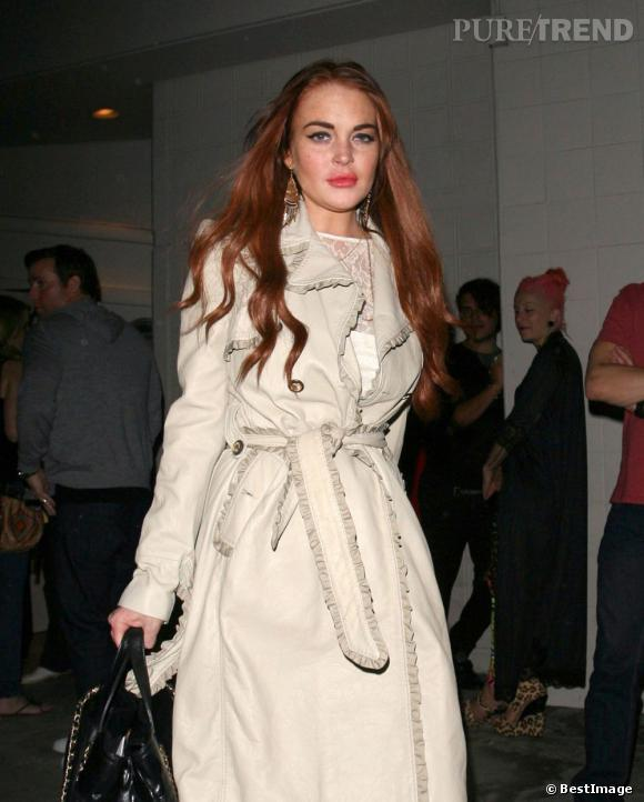 Lindsay Lohan, un nouvel entourage pas vraiment catholique.