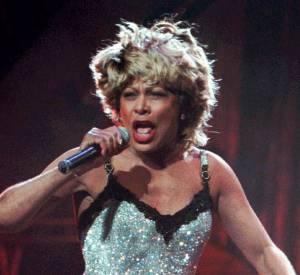Tina Turner et sa crinière reconnaissable assurent le show.