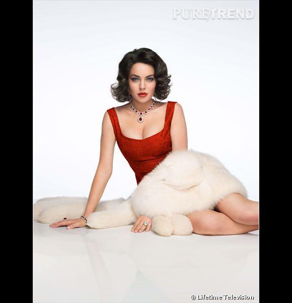 Lindsay Lohan incarne Elizabeth Taylor dans le téléfilme Liz & Dick.