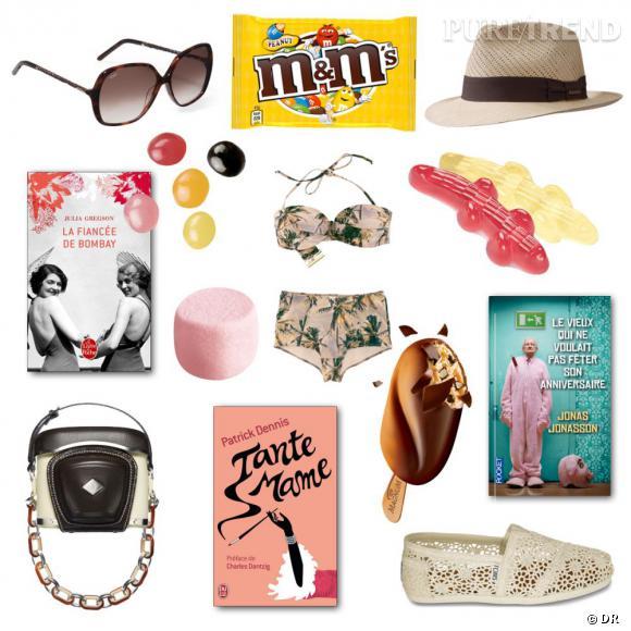 Livres, mode et gourmandises : notre shopping list détente idéale pour cet été
