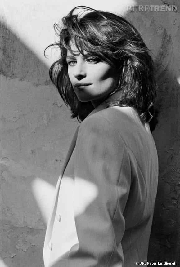 Charlotte Rampling, 1982.  Peter Lindbergh