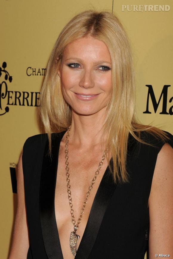 """Dans la catégorie """"Je veux la même peau que"""" : Gwyneth Paltrow      Question hâle et qualité de peau, on est plus ou moins bien doté. Quand on leur demande quelle star les fait rêver, beaucoup répondent """"Gwyneth Paltrow""""."""