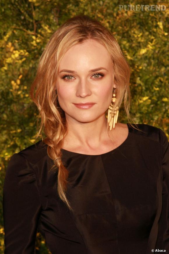 "Diane Kruger incarnera la belle-mère d'Abraham Lincoln, Sarah Bush Lincoln, dans le film de Terrence Malick ""The Green Blade Rises"""