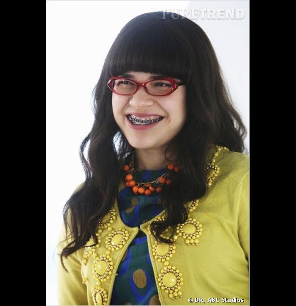 """Dans """"Ugly Betty"""", America Ferrera incarne sans doute la plus moche stagiaire qu'un magazine de mode ait connue."""