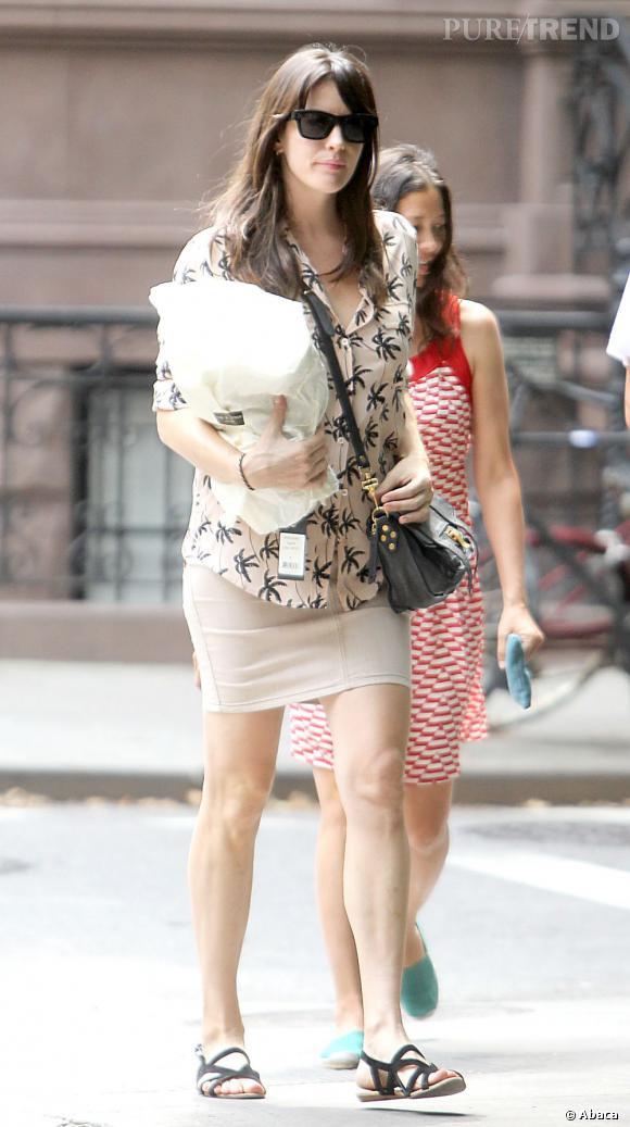Liv Tyler dans les rues de New York le 8 août dernier.