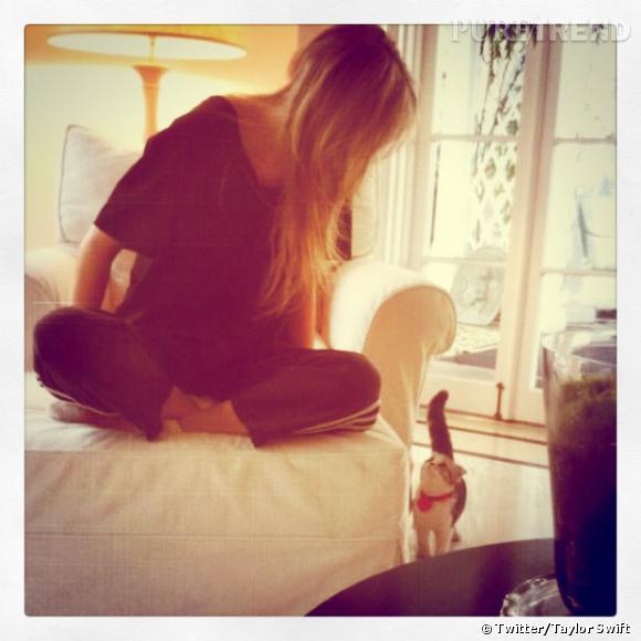 Taylor Swift et Meredith, trop mignonne !