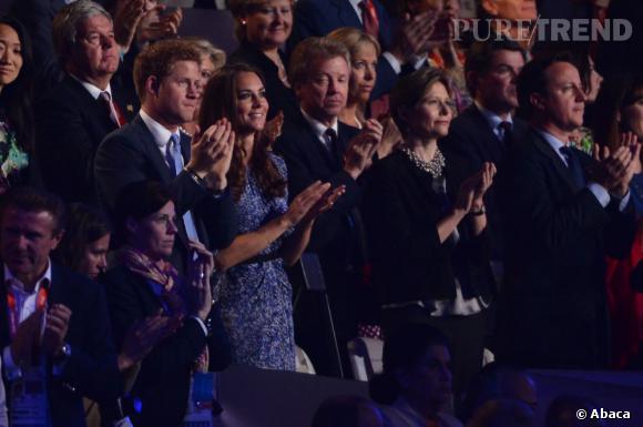Bien évidemment présents ce soir-là, Kate Middleton et son beau-frère le Prince Harry n'ont pas raté une miette du spectacle.