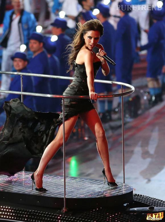 Victoria Beckham assure toujours autant.
