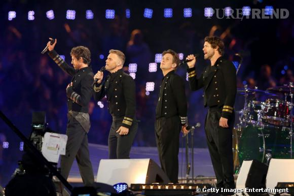 """Boys band british par excellence, Take That reprend son tube """"Rule the world""""."""