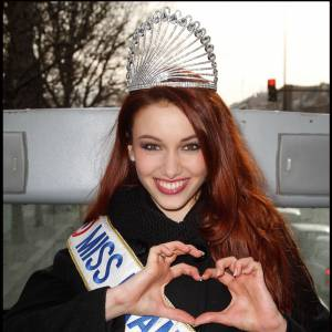 Delphine Wespiser, future Miss Monde ?
