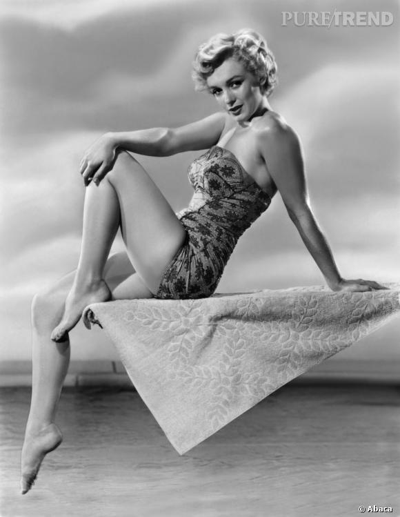 Le drôle de régime de Marilyn Monroe.