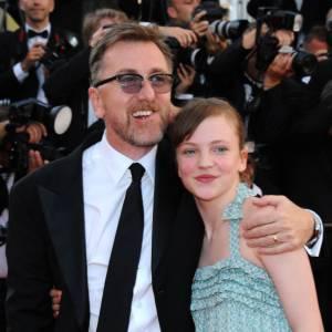 Tim Roth et Eloïse Laurence à Cannes.