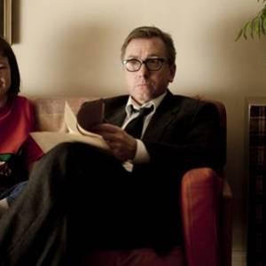 """Tim Roth et Eloïse Laurence, les deux acteurs principaux de """"Broken""""."""