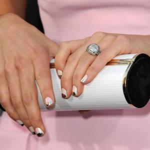 La bague de Jessica Biel à 130 000 dollars offerte par Justin Timberlake.