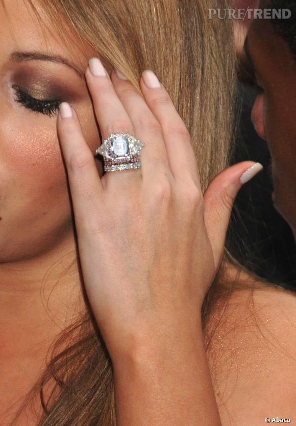 La bague de Mariah Carey et ses 59 diamants.