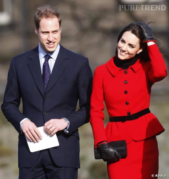 Le Prince William et Kate Middleton, un couple royal qui rêver le monde entier.