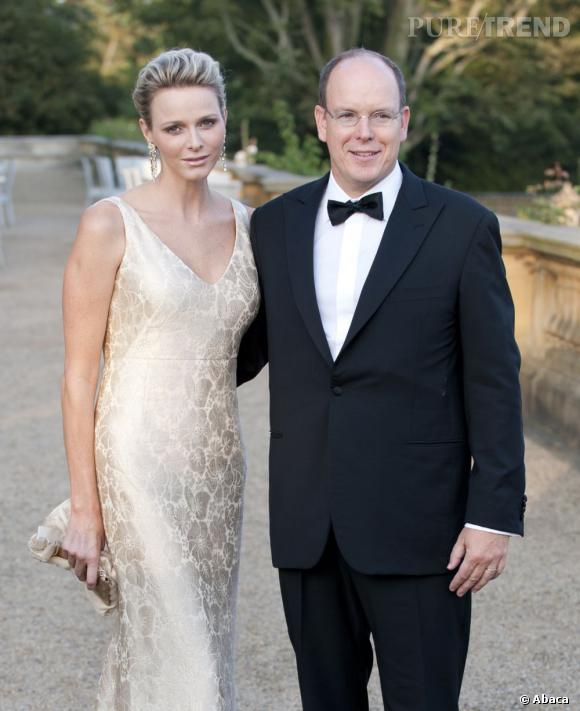 Charlene Wittstock et Albert de Monaco, le couple princier du rocher.