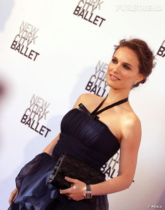 Natalie Portman est depuis peu une femme mariée (à Benjamin Millepied).