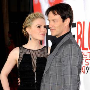 "Anna Paquin et Stephen Moyer, les stars de ""True Blood""."