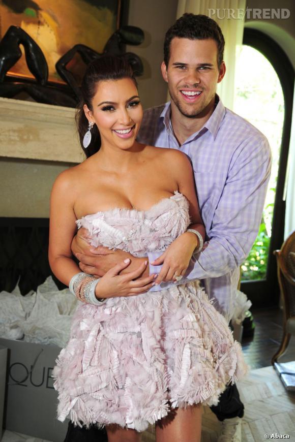 Kim Kardashian et Kris Humphries avant le divorce et surtout avant Kanye West.