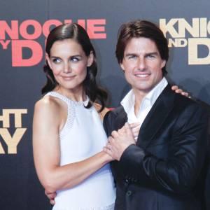 Katie Holmes et Tom Cruise avant le divorce.