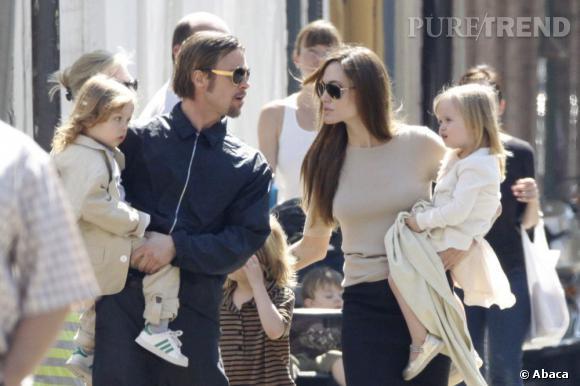 """Angelina Jolie a réussi à faire engager sa fille Vivienne au casting de son dernier film, """"Maleficent""""."""