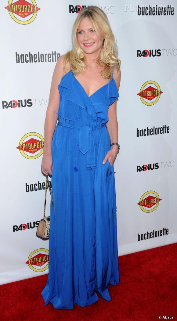 """Kirsten Dunst lors de la première de """"Bachelorette"""" à Los Angeles le 23 août dernier."""