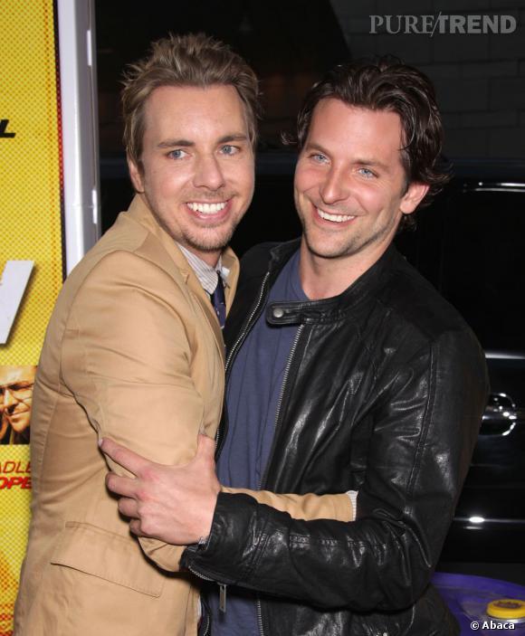 """Bradley Cooper, ami avec Dax Shepard, n'a pas hésité à jouer dans son film """"Hit & Run"""" !"""