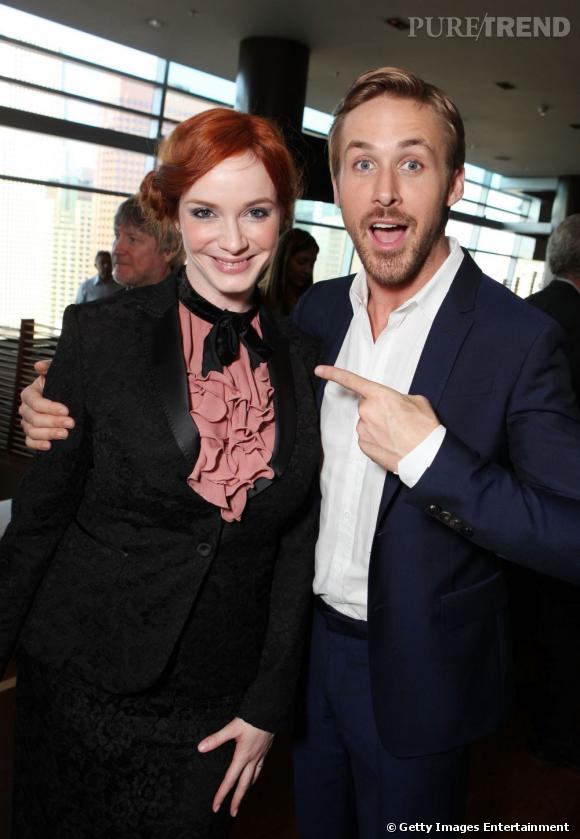 "Ryan Gosling et Christina Hendricks travailleront de nouveau ensemble dans ""How To Catch A Monster"""