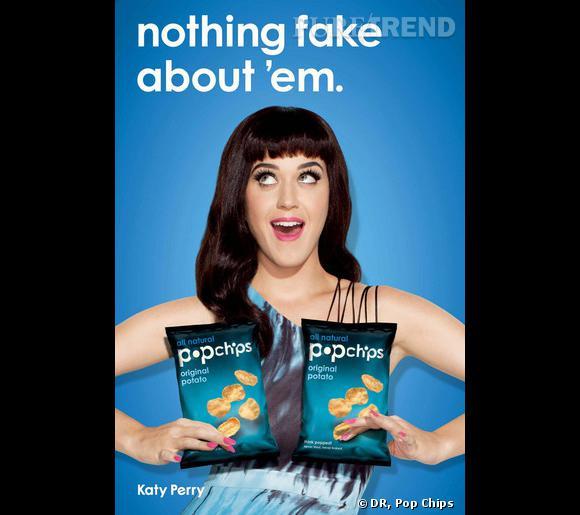 Katy Perry pour Pop Chips, tout est naturel !