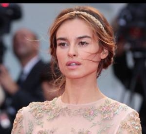 Kasia Smutniak : comme un air de Keira Knightley pour la revelation mode de Venise