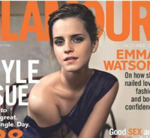 Emma Watson, sexy et fatale pour Glamour