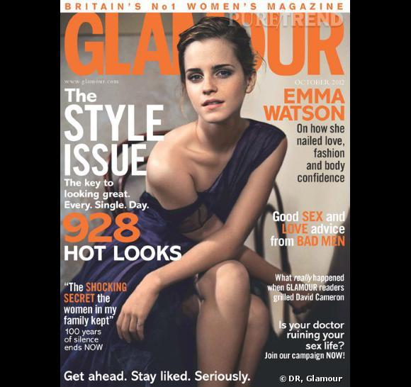 Emma Watson pour le Glamour Uk.
