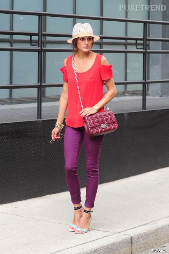 Toujours féminine et sexy, mais sans jamais être vulgaire, Olivia Palermo est la it-girl parfaite de New York.