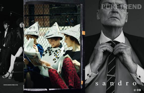 La nouvelle campagne Sandro