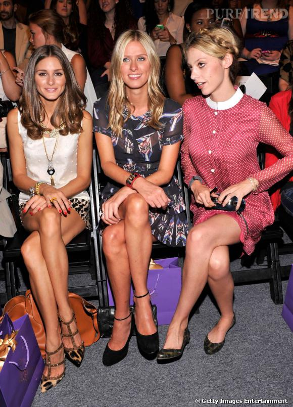 Olivia Palermo, Nicky Hilton et Cory Kennedy chez Noon by Noor.