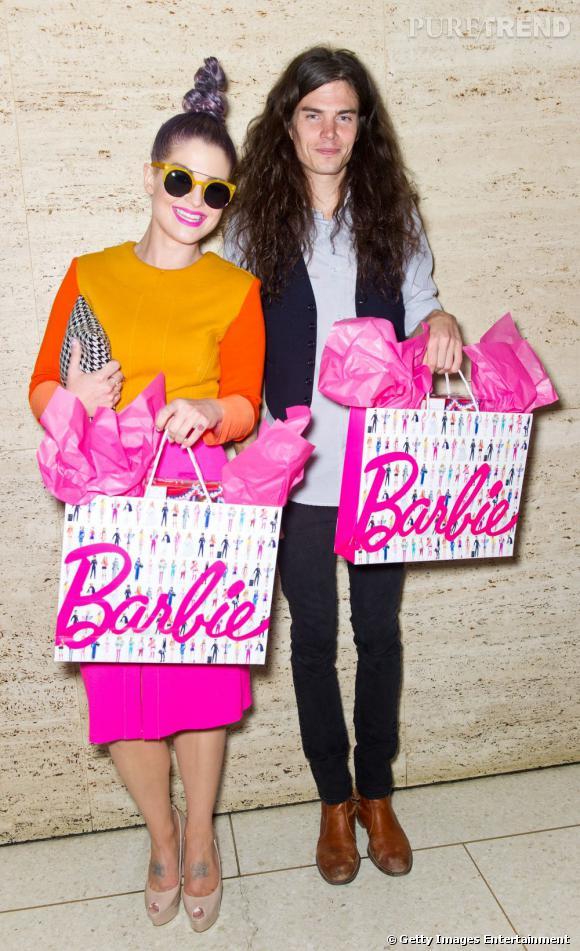 Du rose Barbie pour rehausser tout ça !