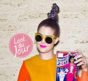 Fashion Week de New York : Kelly Osbourne, la surprise en couleurs