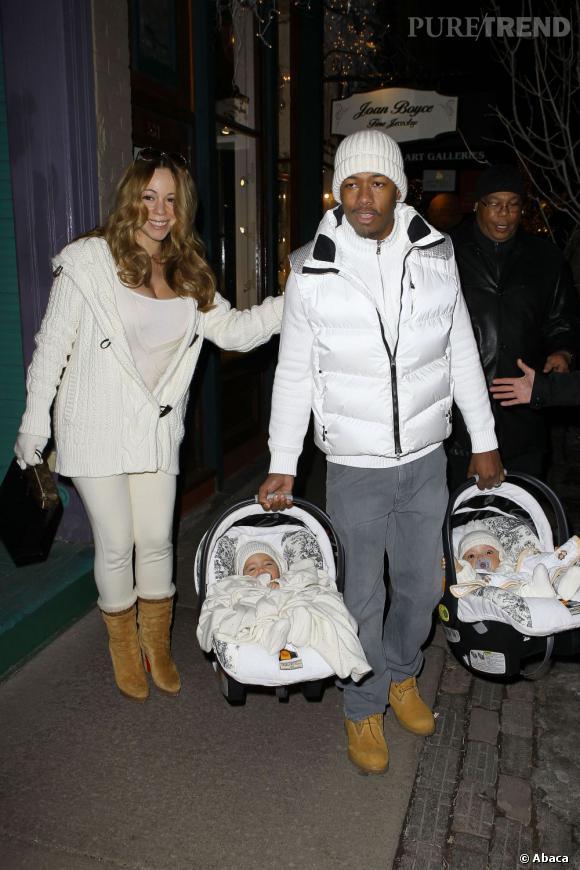 Mariah Carey et son homme aussi sont parents de jumeaux.