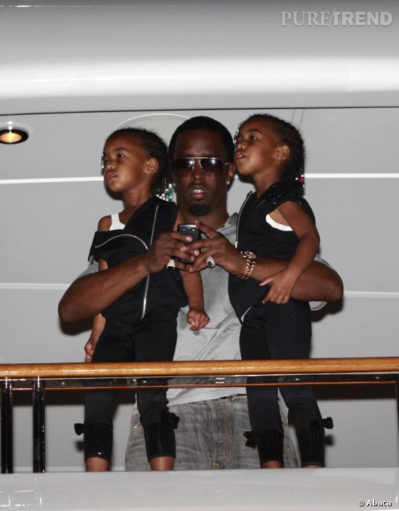 Le rappeur P.Diddy aussi a des jumelles !