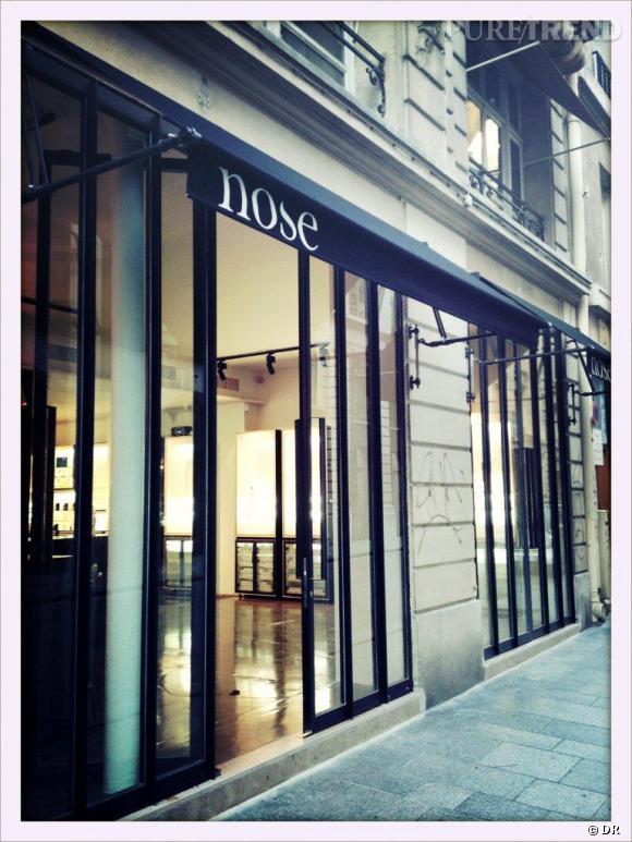 Nose, le concept store de parfums propose une cinquantaine de marques de créateurs au 20 rue Bachaumont à Paris.