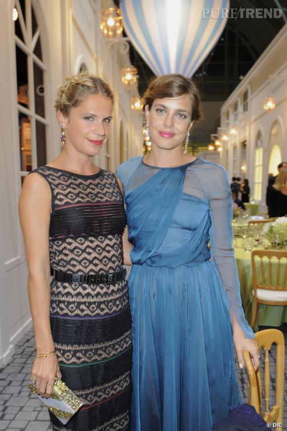 Eugénie Niarchos et Charlotte Casiraghi.