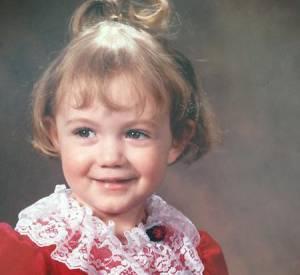 Sur cette photo que la star a partagé sur Twitter, on voit une mignonne et innocente fillette.