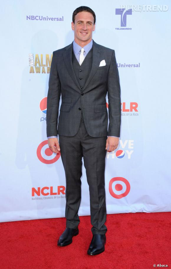Ryan Lochte avait fait le déplacement pour assister à l'émission.